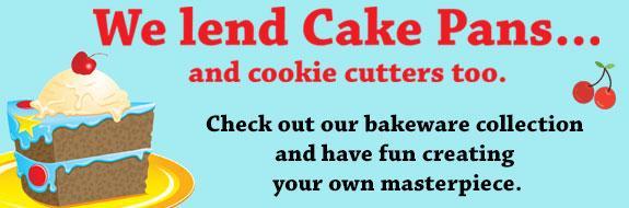 We lind cake pans